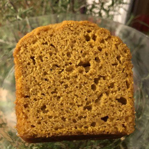 pumpkin Loaf slice