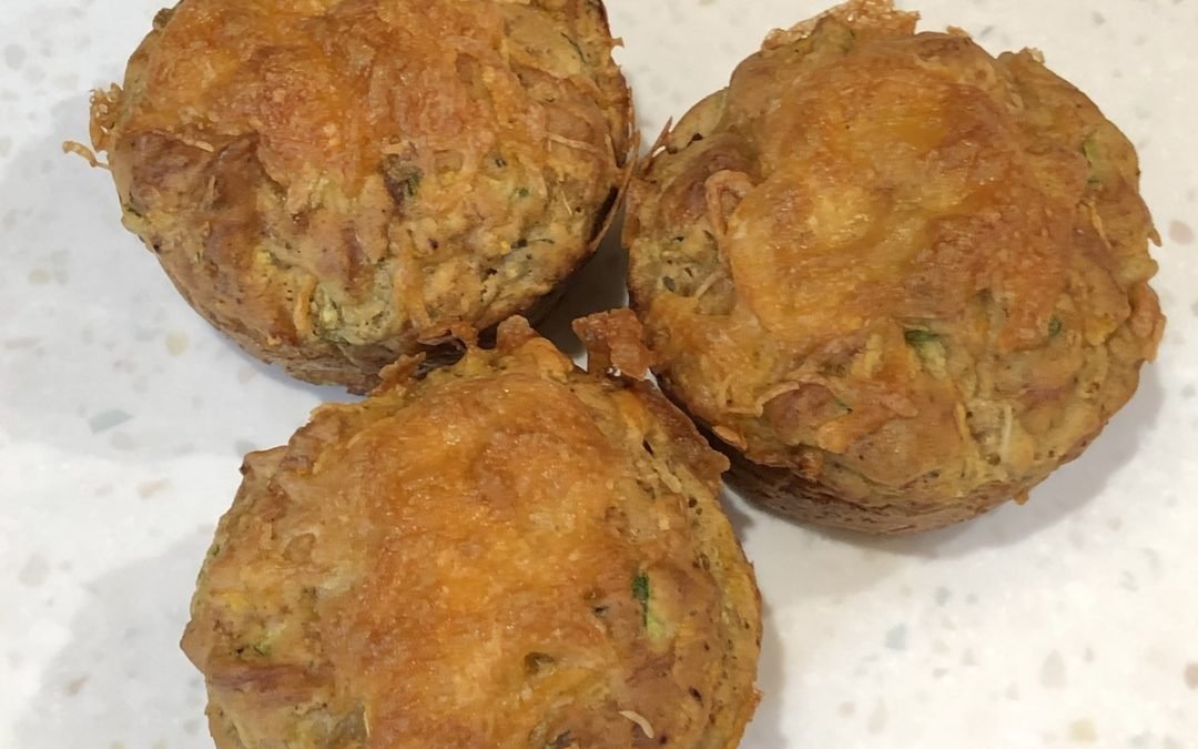 Savory Vegetable Muffins without Gluten