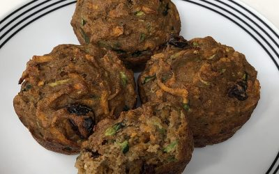 Sweet Vegetable Muffins without Dairy